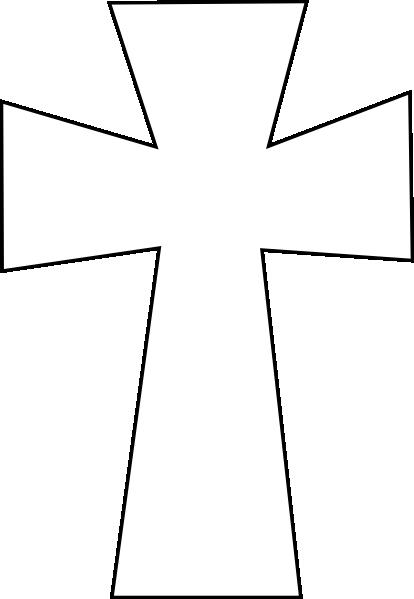 Clipart cross. Crosses clip art vector