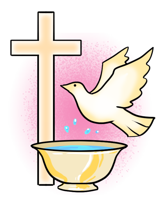Image result for baptism. Faith clipart christening church