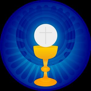 Holy eucharist by stephencuyos. Cross clip art communion