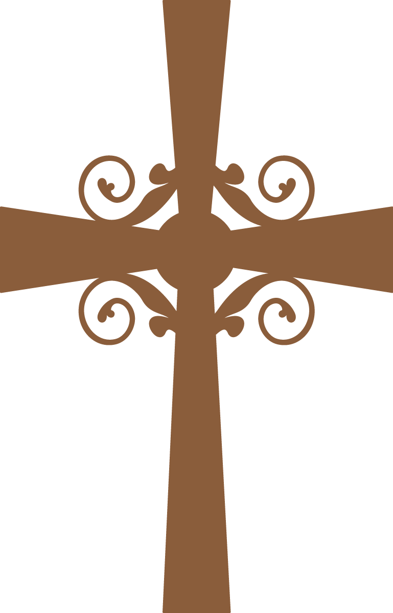 Cross clip art communion. Silhouettes first clipart oh