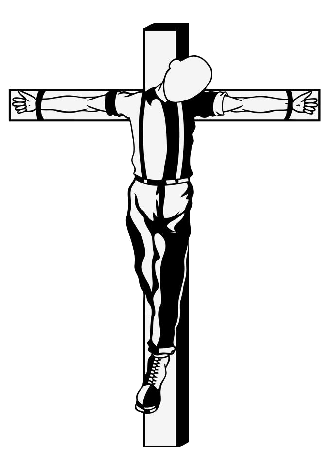By headstomper on deviantart. Crucifix clipart crucified jesus