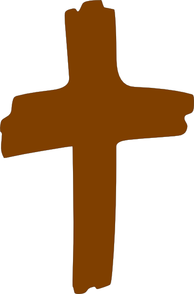 Black and white clipart. Cross clip art crucifixion