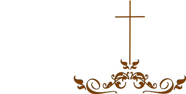 Swirl brown at clker. Cross clip art decorative cross
