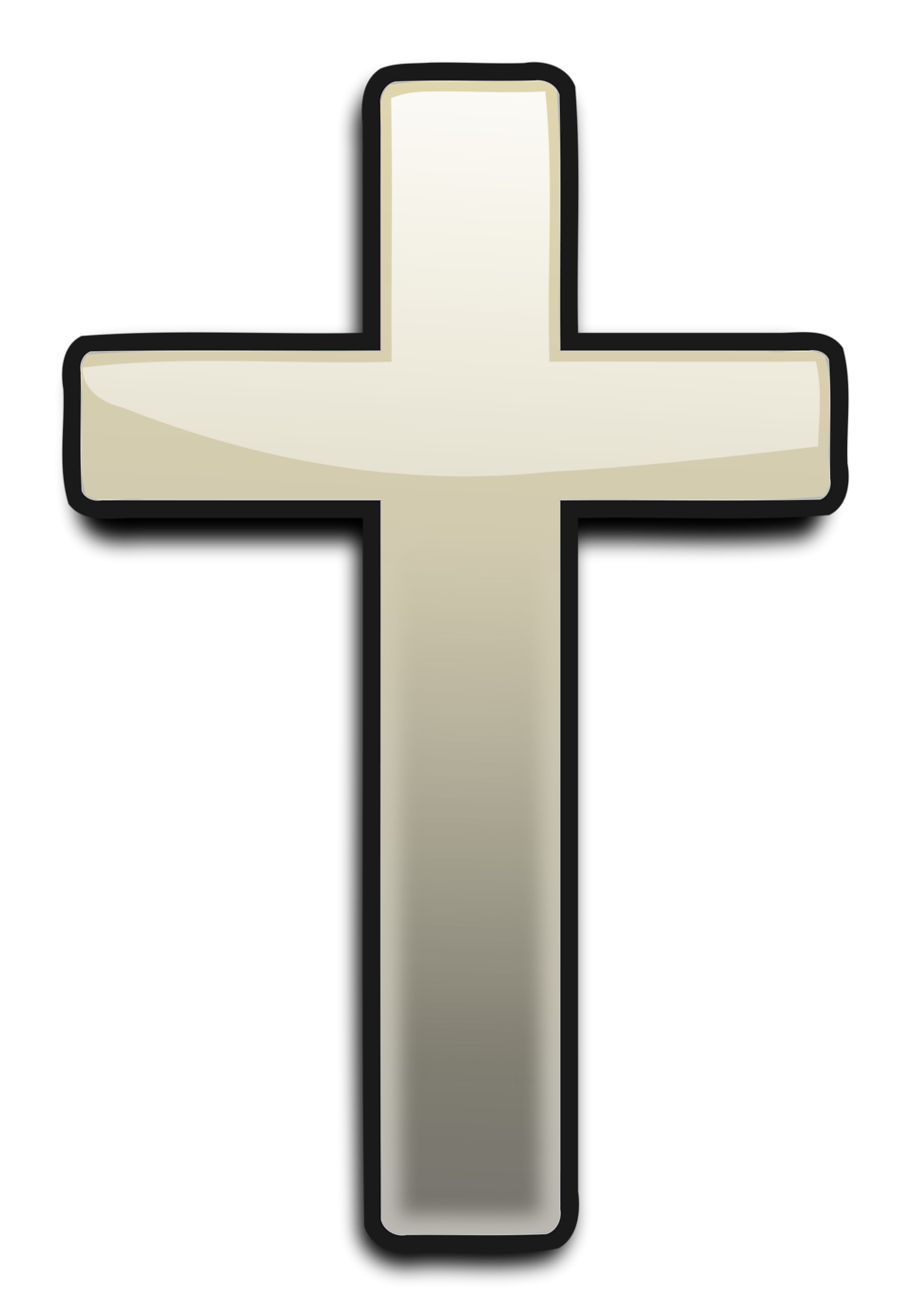 Cross with transparent background. Markers clipart kid