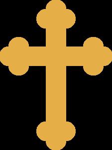 Cross clip art fancy. Gold clipart best christian