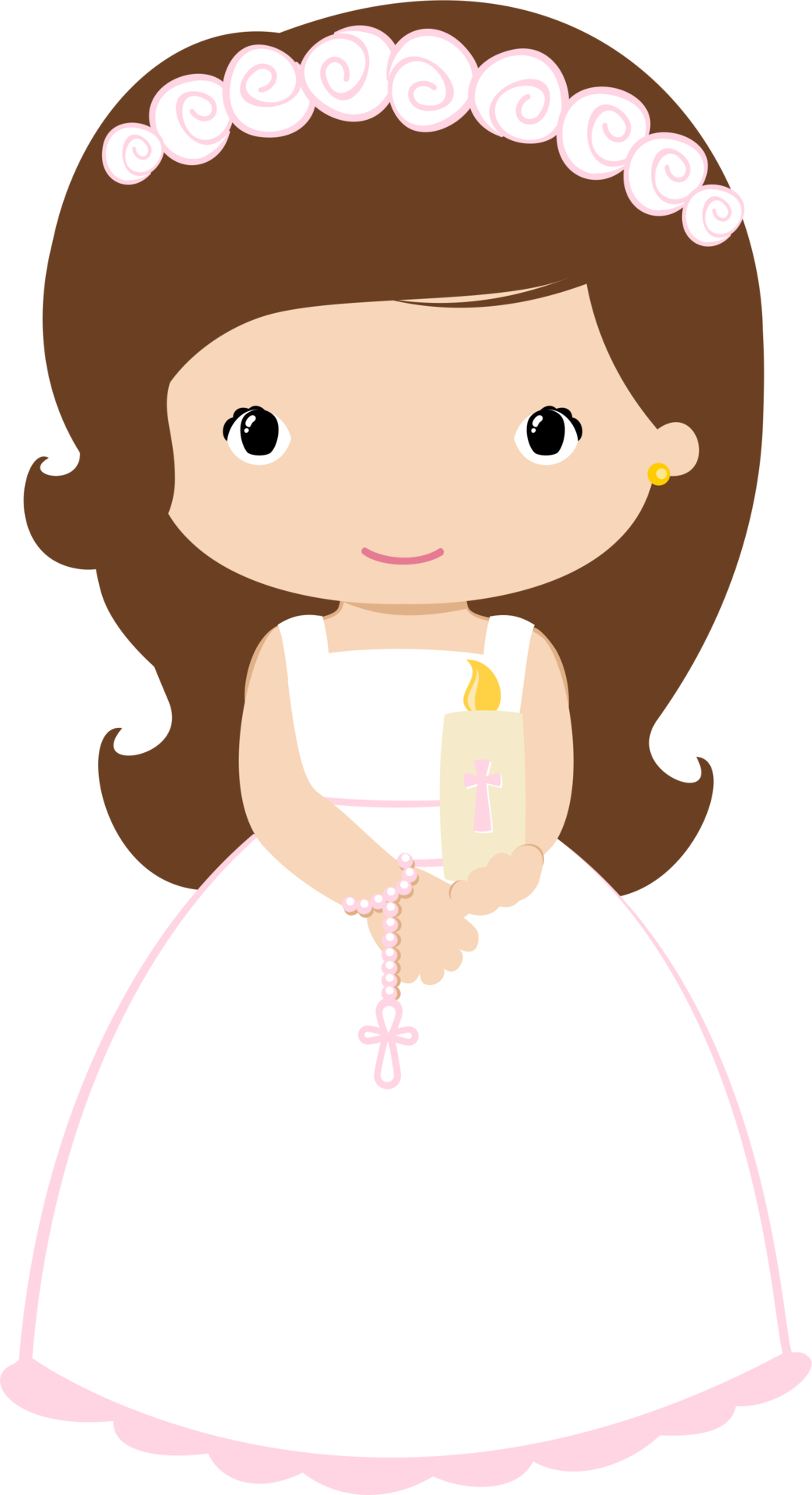 Cross clip art first communion. Holy girl clipart clipartxtras
