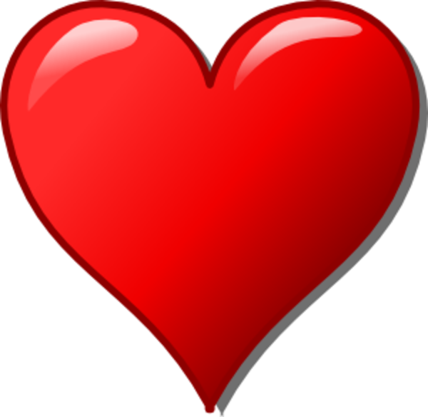 Clipart heart. Shape panda free images