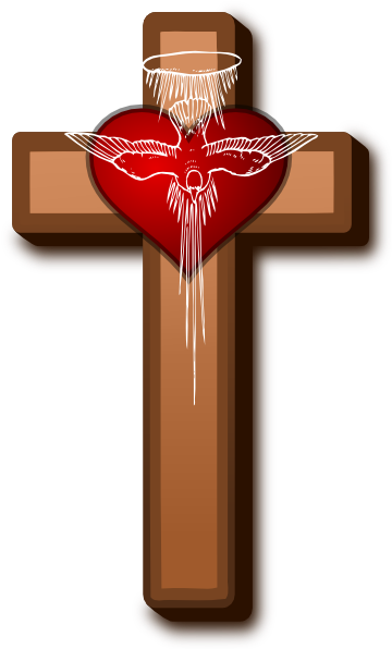 Love at clker com. Cross clip art holy cross