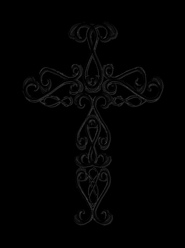 crucifix clipart turquoise cross