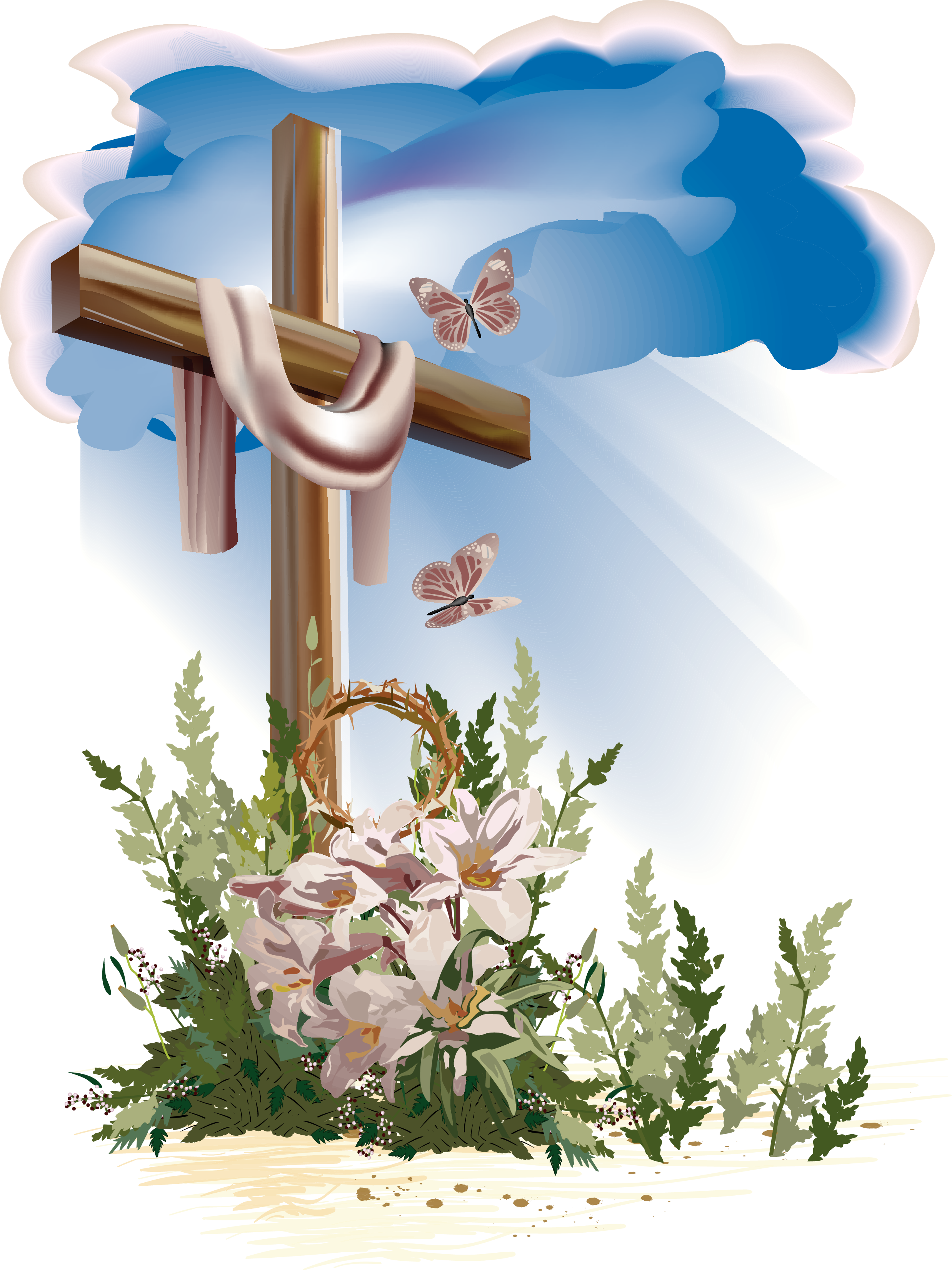 Clipart easter empty tomb. Pin by oczko on