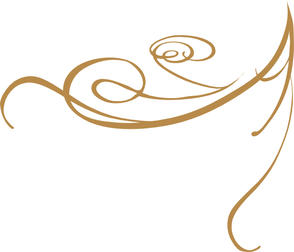 Clipart road bendy. Gold swirls png decorative