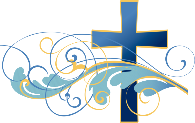 Faith clipart christening church. Blue cross clip art