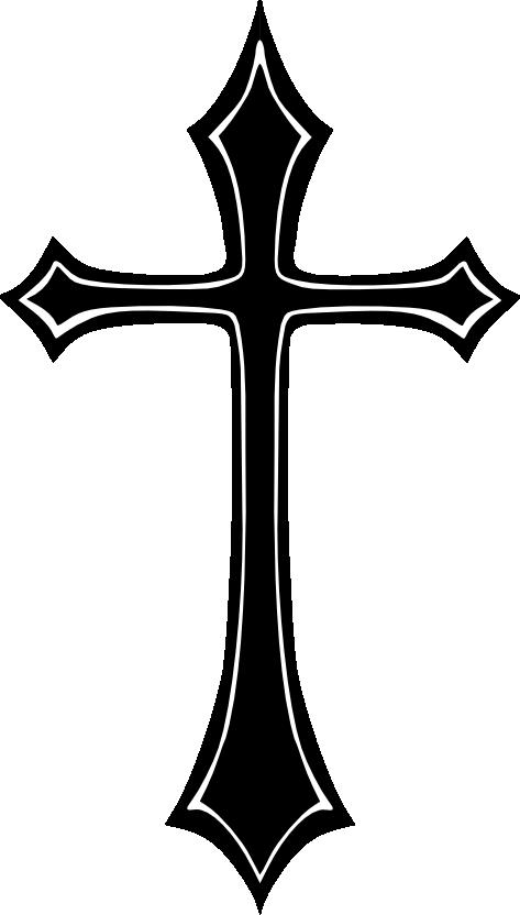 Gothic home pinterest crosses. Cross clip art wooden cross