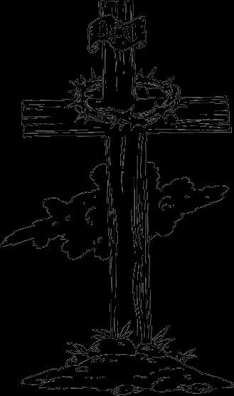 Wood drawing at getdrawings. Cross clip art wooden cross