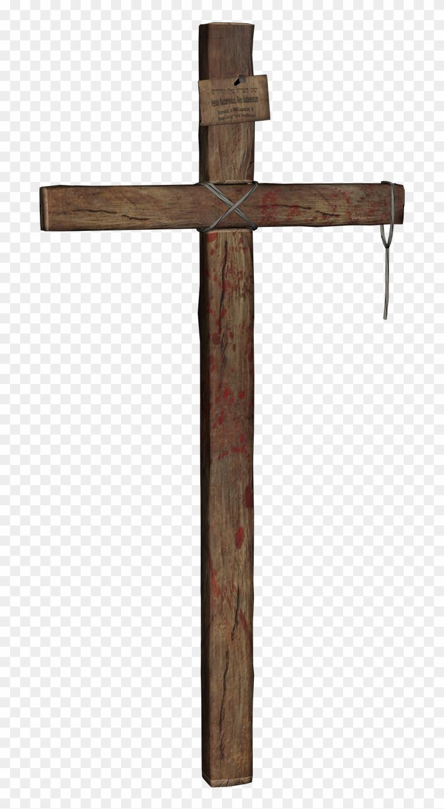 Transparent . Clipart cross wooden cross