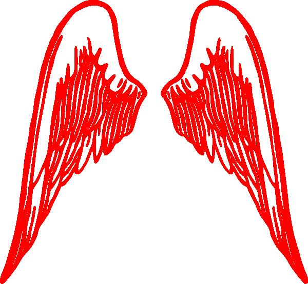 Wings free clip art. Wing clipart fallen angel