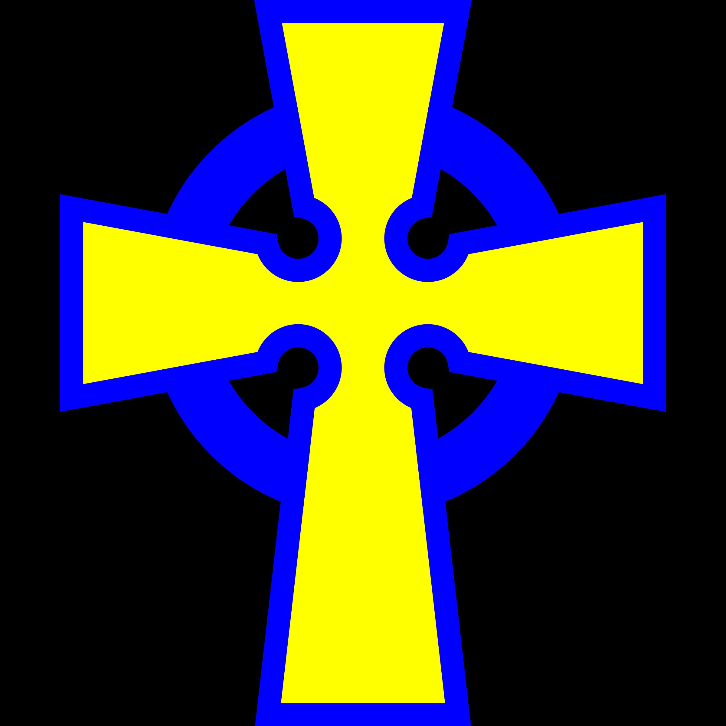 Cross clipart blue. Va celtic big image