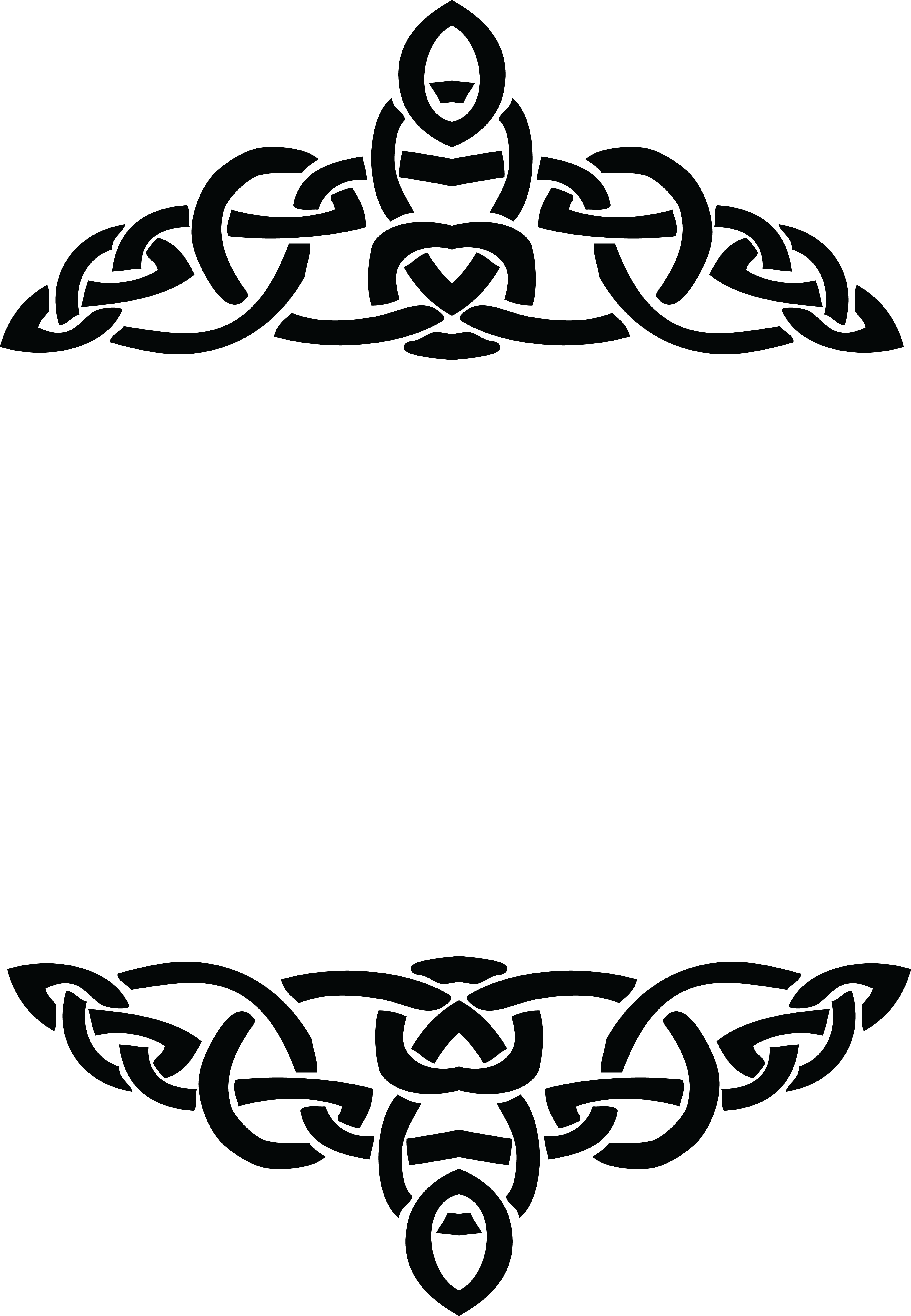 Celtic free real and. Sock clipart border