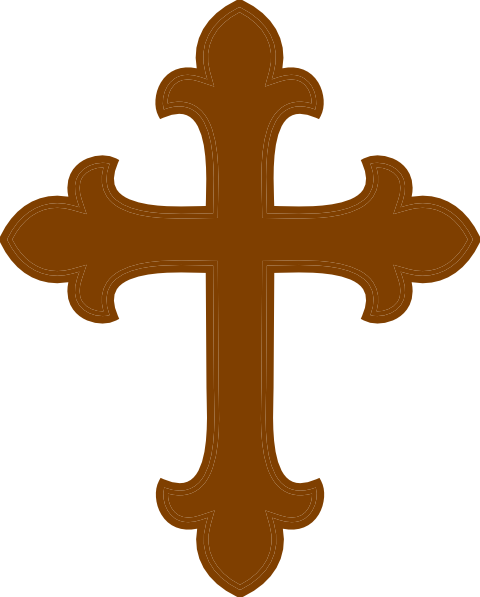 Cross clipart brown. Free cliparts download clip