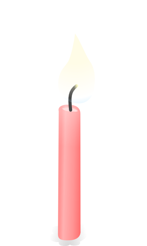 Candle i royalty free. Light clipart light flame
