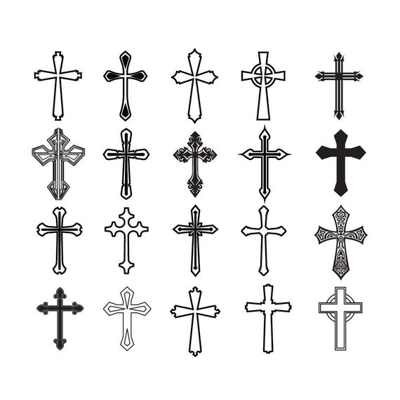 Cross clipart file. Svg collection cut files