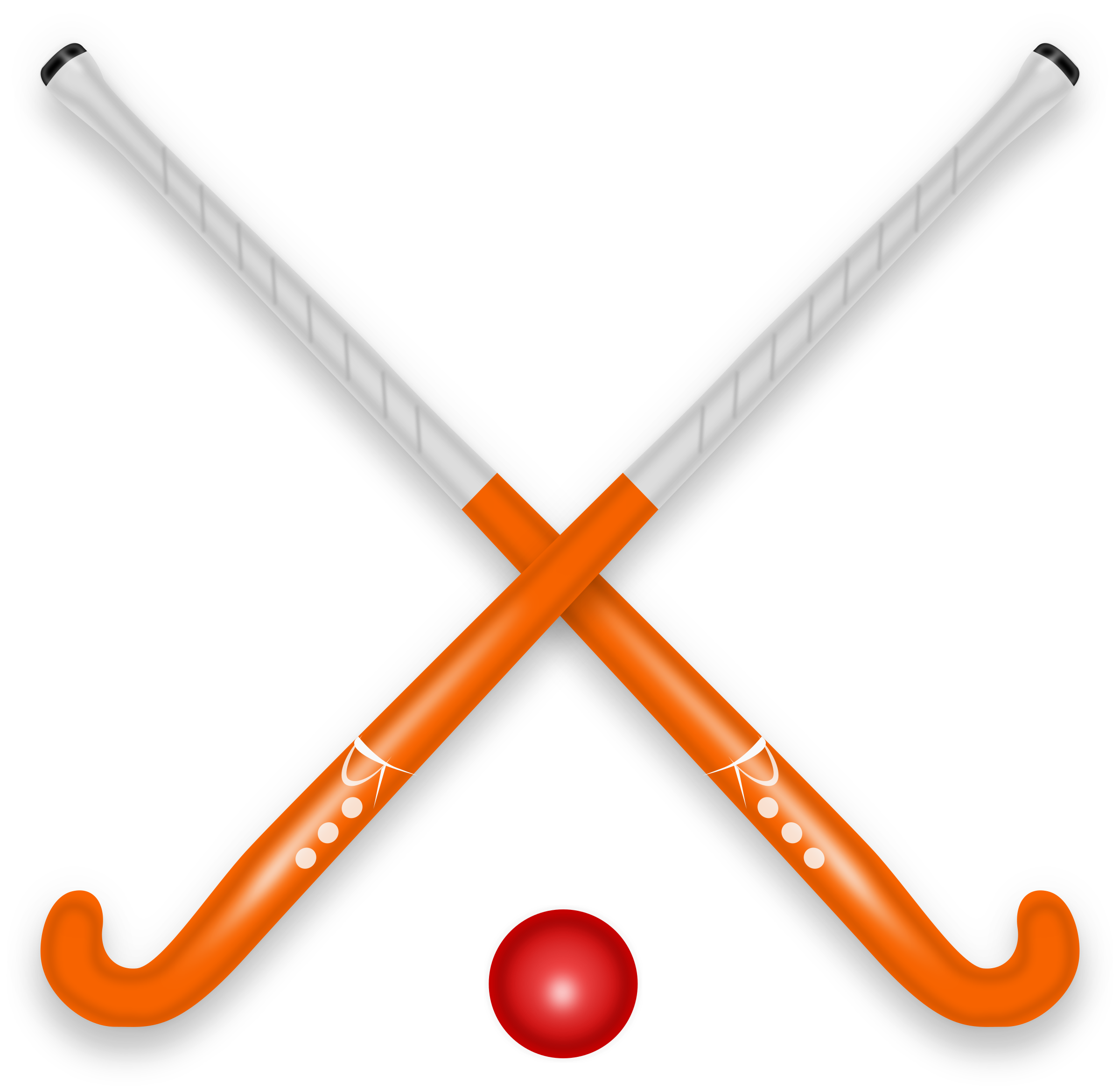 Hockey clipart banner.  collection of stick