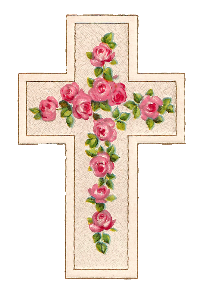 Cross clipart holy week. Antique images free digital