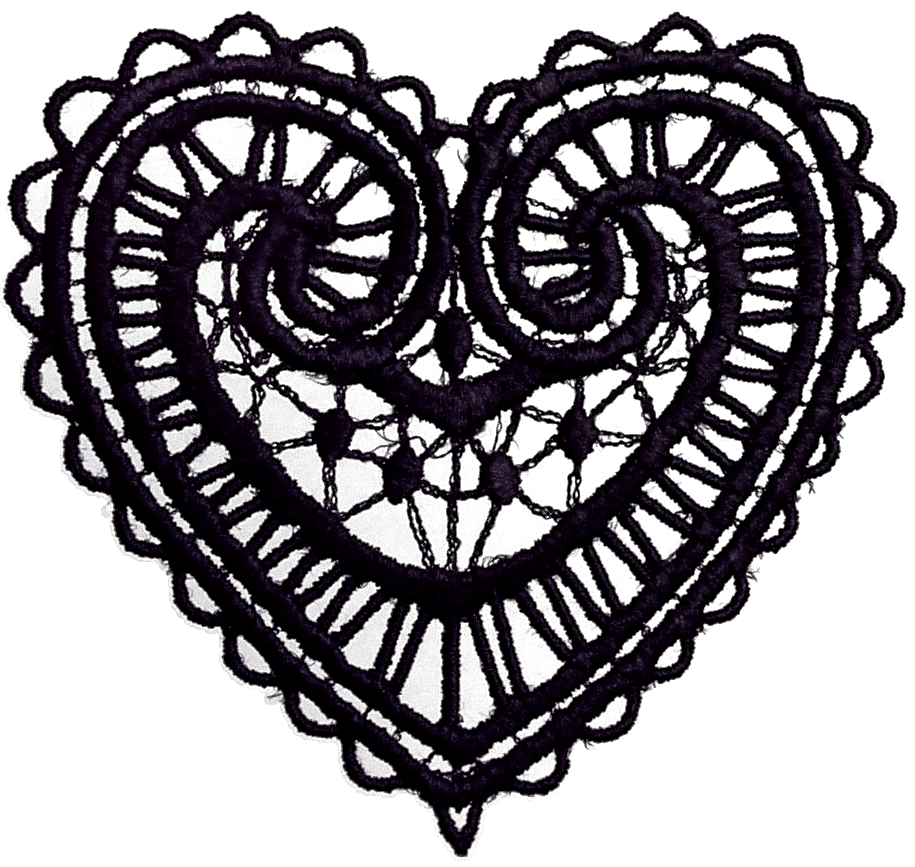 Lace clipart cross. Graphic vector collection dark