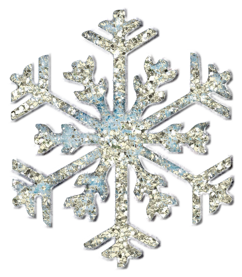 Winter clipart accessory. Snow flurries and xmas