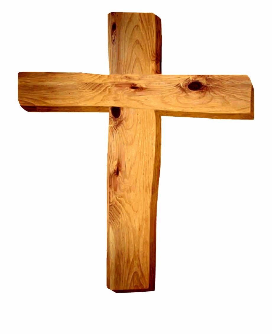 Cross clipart wooden cross. Hd png download free