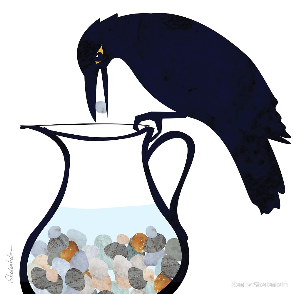 The and by kendra. Crow clipart pitcher