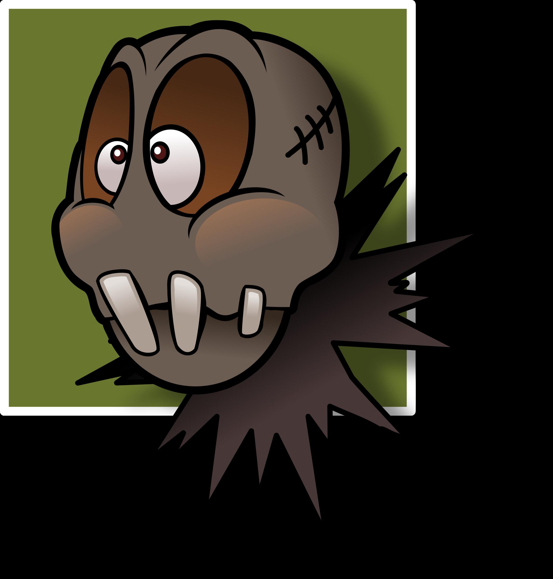 Scarecrow clipart svg. Speechless avatar big image