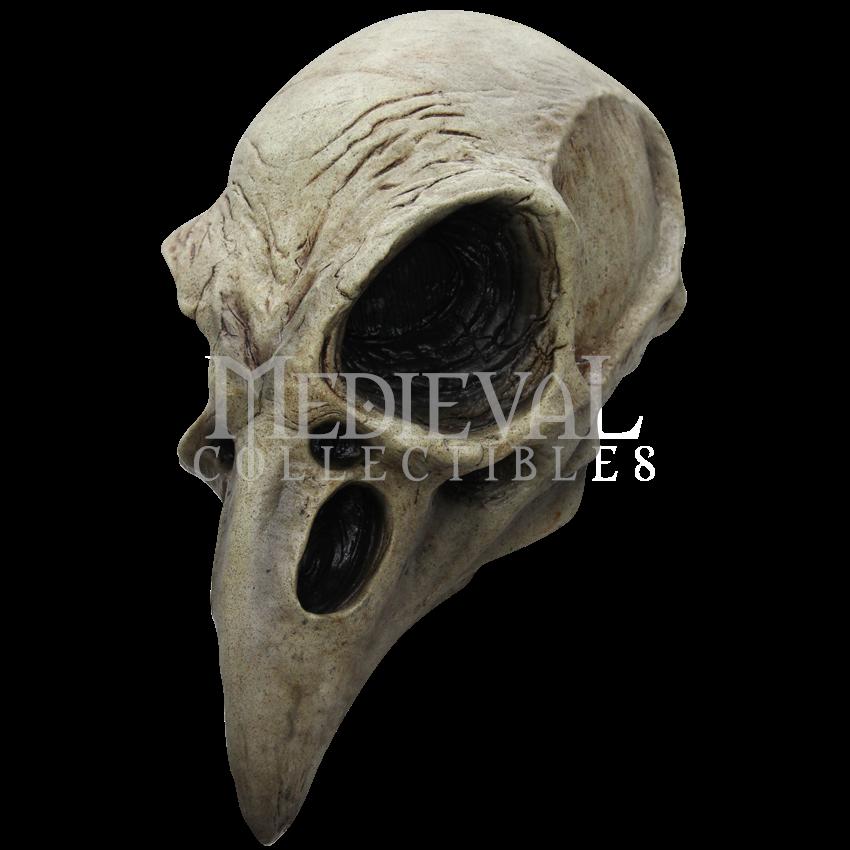 Skull mask pinterest crows. Skeleton clipart crow