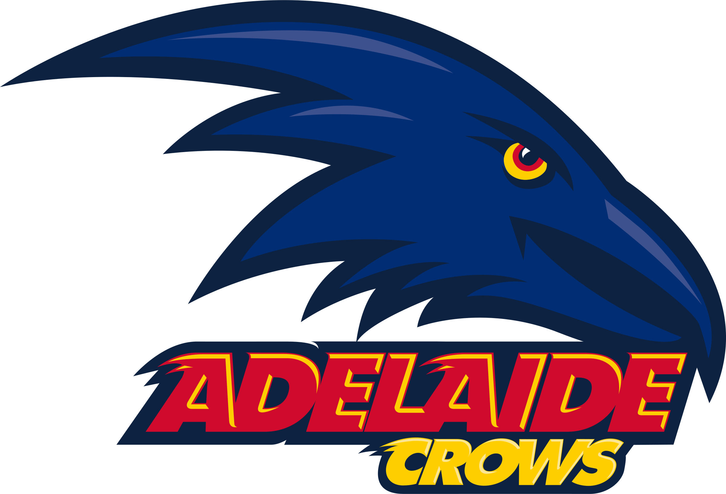 Adelaide crows logo png. Crow clipart svg