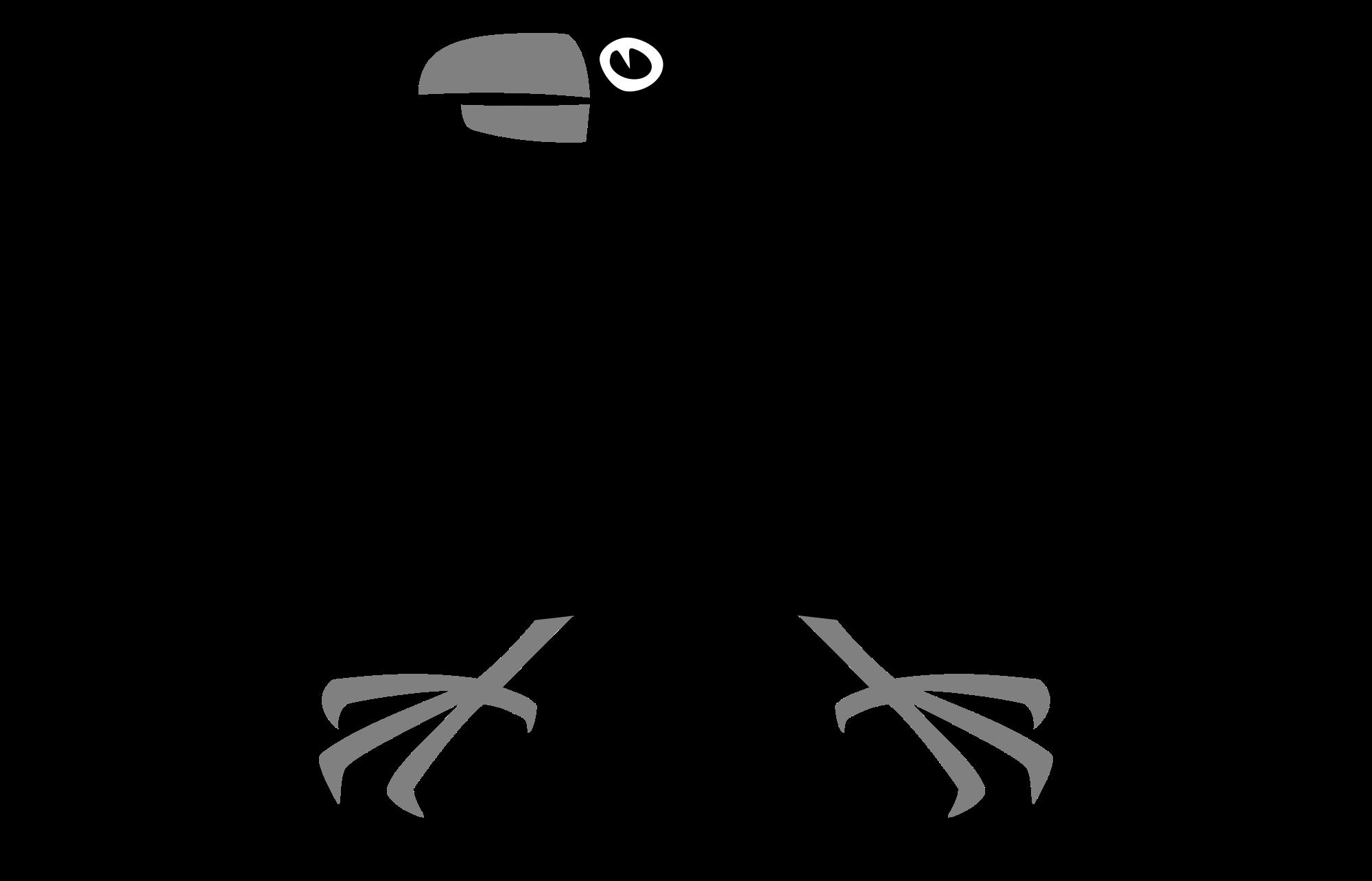 Crow clipart svg. File heraldic wikimedia commons