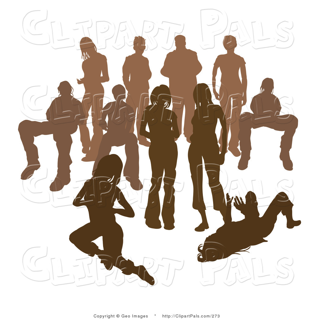 Of people panda free. Crowd clipart