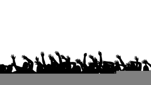 Cheering free images at. Crowd clipart cheered