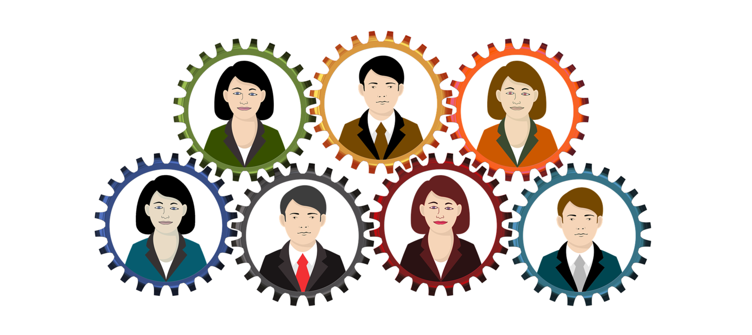 Gender diversity in the. Professional clipart buisnesswoman