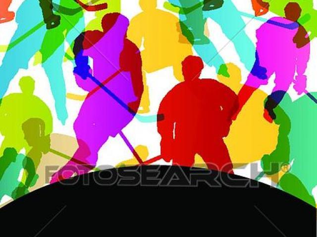 Hockey clipart crowd. X free clip art