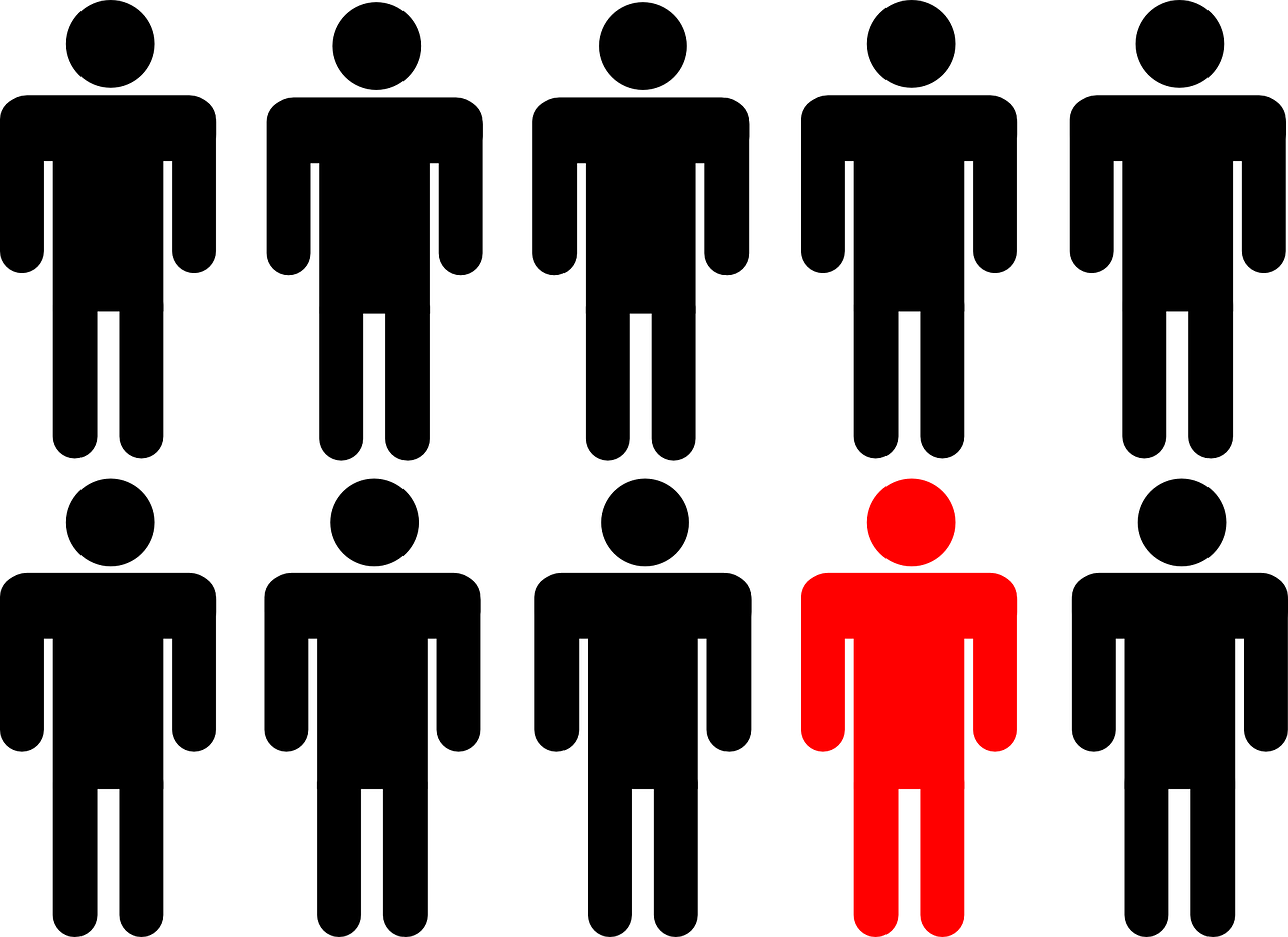 ways to stand. People clipart crowd