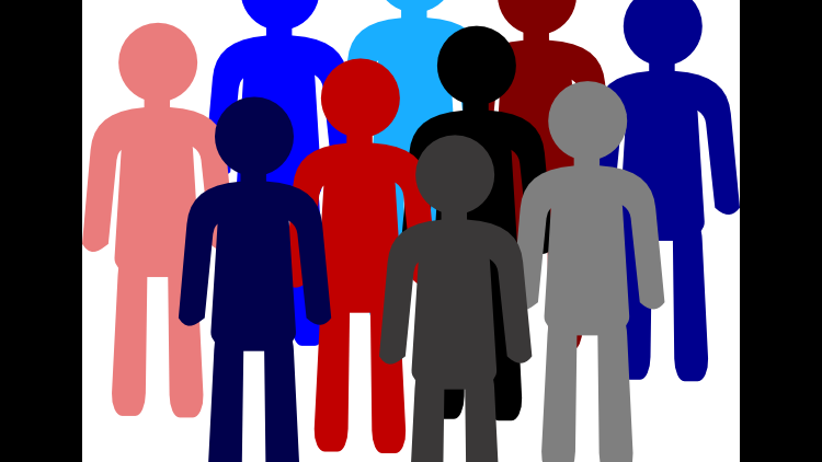 Health ministry rewriting population. Humans clipart demographics