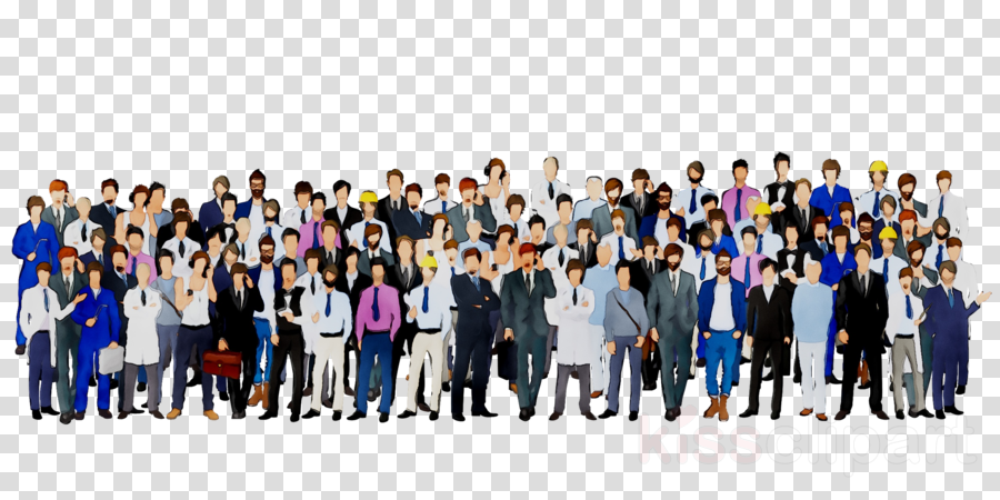 Group of people background. Crowd clipart public