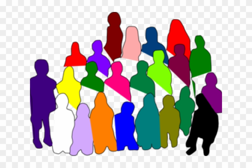 Domain diverse free hd. Crowd clipart public