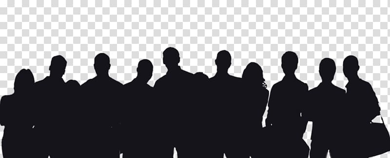 People silhouette illustration person. Crowd clipart shadow