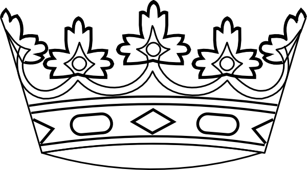 Crown clip art beauty queen crown. Silhouette at getdrawings com