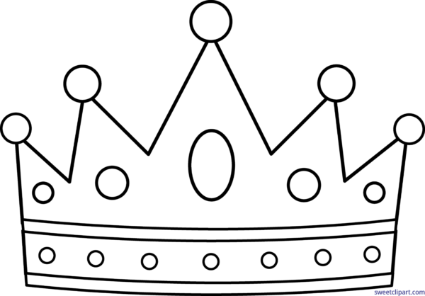 Crown clip art black and white. All archives page of