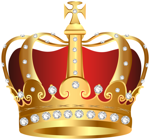 Crowns clipart pastel. King crown transparent png