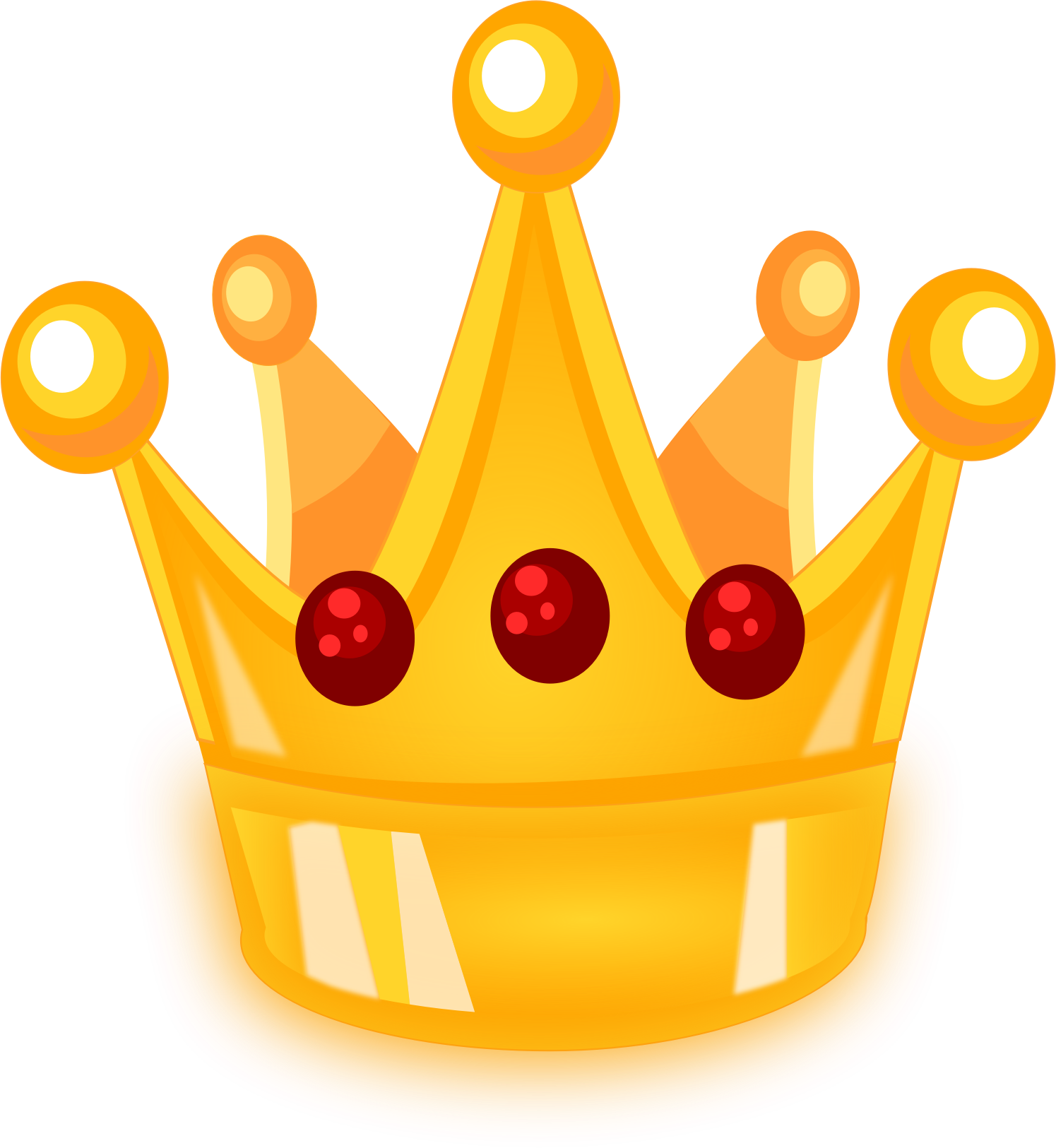Royal with no background. Number 1 clipart crown