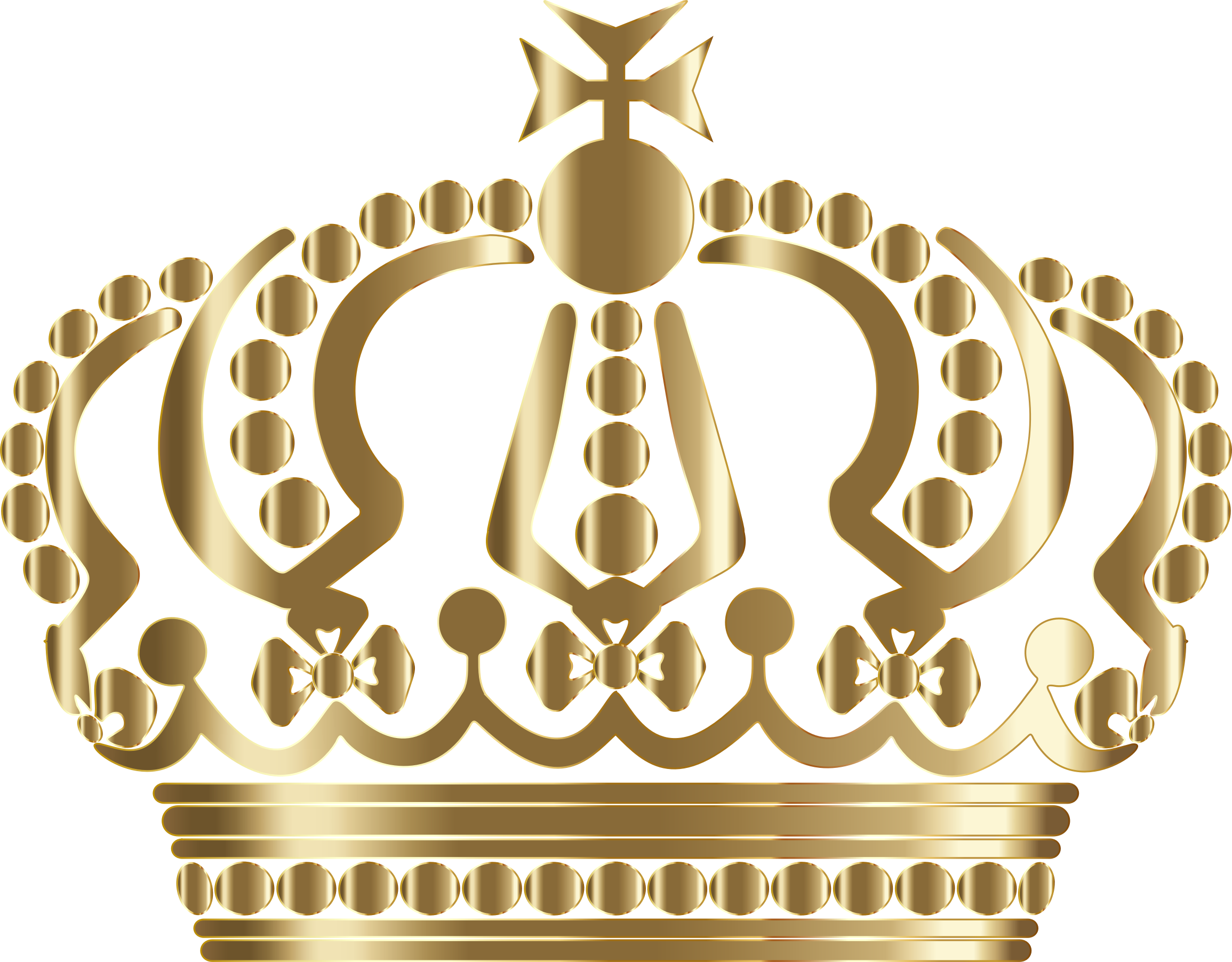 Gold german imperial no. Crown clip art clear background