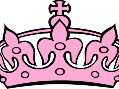 Crown clip art clear background. Black white png image